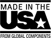 Made in the USA from Global Components
